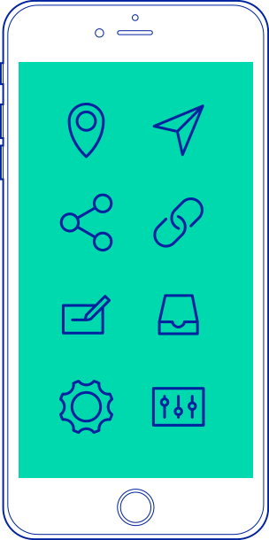 hi e-learning app illustration screen
